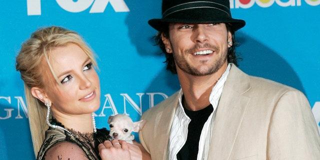 Britney Spears and Kevin Federline.