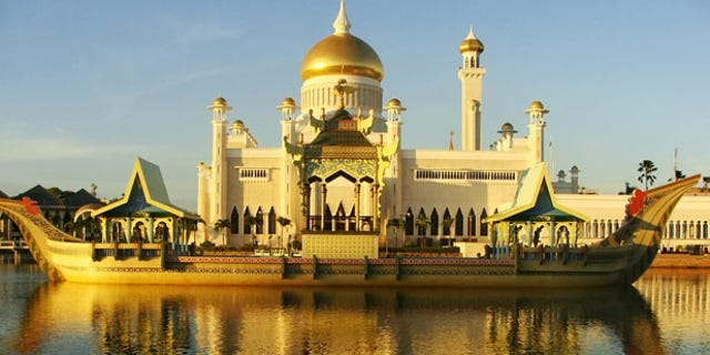Brunei urges tourism while at the same time implementing