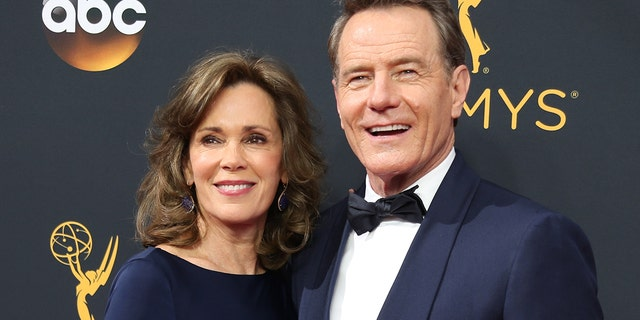 Actor Bryan Cranston and wife, Robin Dearden, arrive at the 68th Primetime Emmy Awards in Los Angeles, California U.S., September 18, 2016.