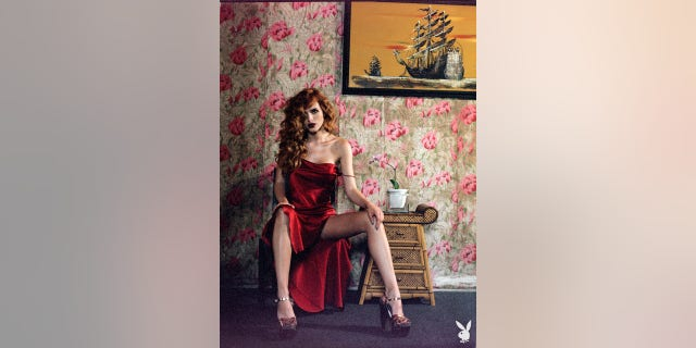 Bella Thorne appears in Playboy magazine.