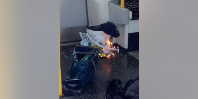 Police said the fire on a London subway train was caused by the detonation of an improvised explosive device.