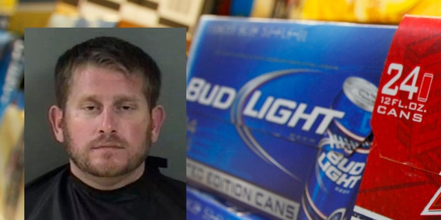 Christopher Maxwell, 33, took matters into his own hands when told he couldn't purchase alcohol between 1 and 7 a.m.