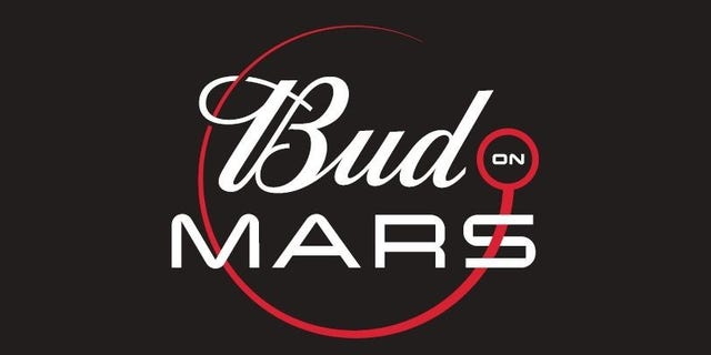"Budweiser first announced its ""Bud on Mars"" initiative in March."