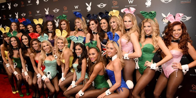 SCOTTSDALE, AZ - JANUARY 30:  Playmates attend the Playboy Party at the W Scottsdale During Super Bowl Weekend, on January 30, 2015 in Scottsdale, AZ.  (Photo by Jason Merritt/Getty Images for Playboy)