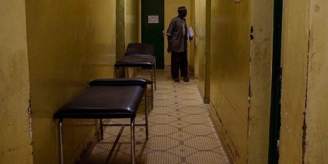 Nov. 24: Empty hospital beds inside the Yalgado Hospital during a strike by health workers in Ouagadougou, Burkina Faso