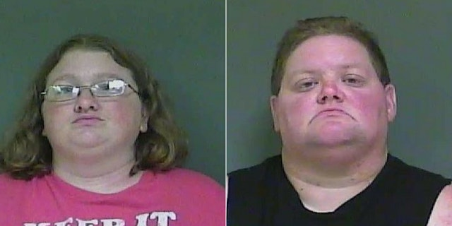 Melissa Burton (left) and Susan Glascock (right) are accused of using marijuana as an incentive for a boy's behavior, court documents stated.