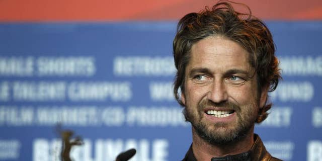 Gerard Butler admitted he didn't know Brandi Glanville's name.