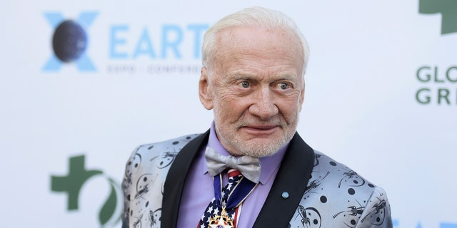 "Edwin ""Buzz"" Aldrin was the second man to step foot on the moon 50 years ago. He is now calling for the U.S. to focus on bringing humans to the moon and further -- to Mars."
