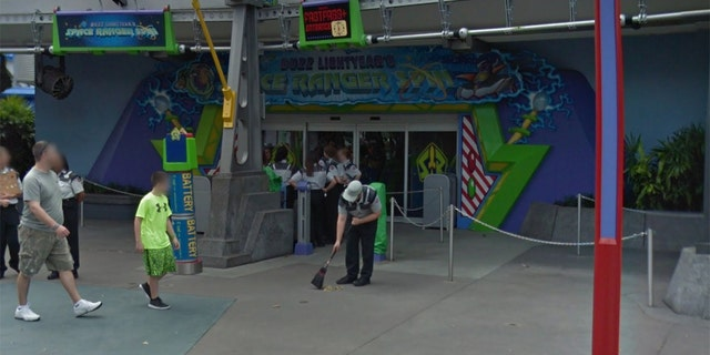 The guests had just exited Buzz Lightyear's Space Ranger Spin, and had begun browsing at a nearby souvenir shop, according to court documents.