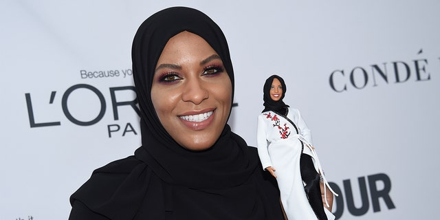 Mattel launched the first hijab-wearing Barbie, which was modeled after Olympic fencer Ibtihaj Muhammad