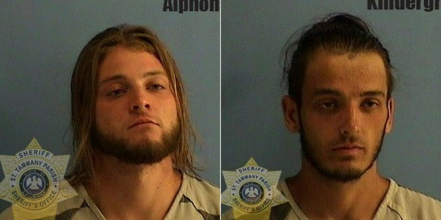 Cameron Alphonso, 21, (left) and Alden Kindergran, 22, (right) were also arrested and charged in connection with the deadly beating.