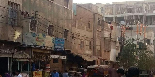 Inside Lyari, Karachi.