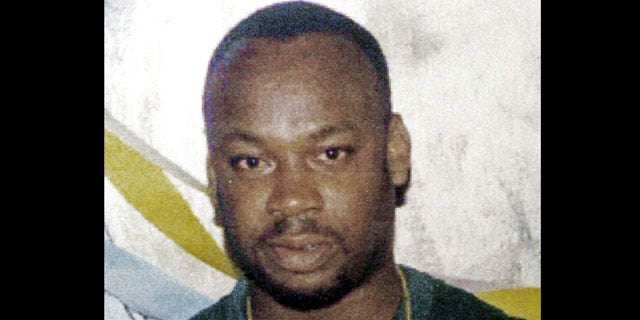 """In this undated file photo, alleged drug gang leader Christopher """"Dudus"""" Coke is shown."""