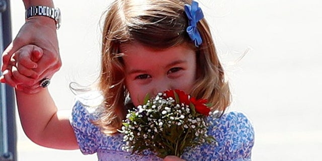 Princess Charlotte is the second child of Prince William and Catherine, the Duchess of Cambridge.