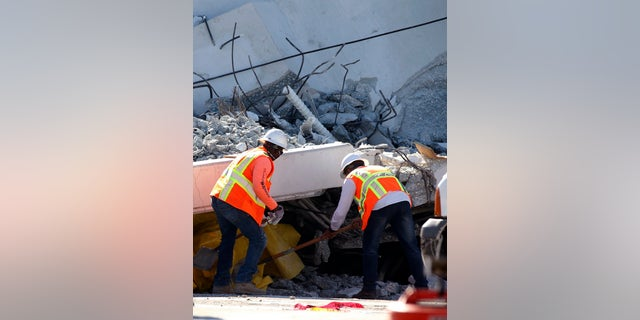 An investigation in ongoing to determine what caused the bridge to collapse.