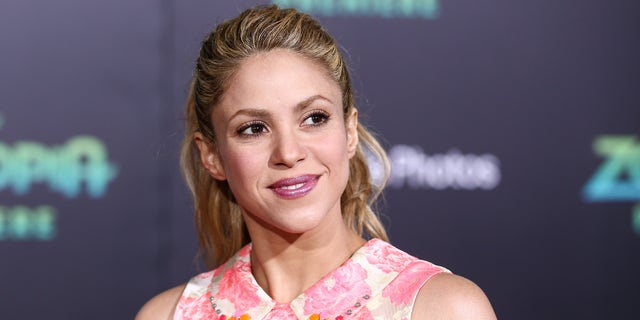 Shakira at the premiere of 'Zootopia' on Wednesday, Feb. 17, 2016, in Los Angeles.