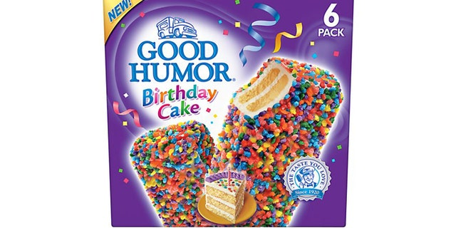 Good Humor Birthday Cake Bars Walmart