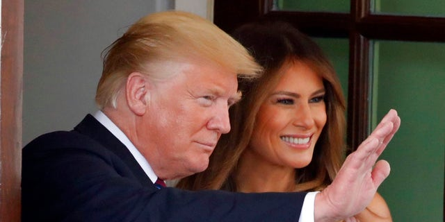 """Melania Trump has accused the author of an anonymous op-ed of """"sabotaging"""" the country."""