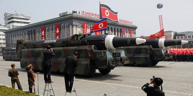 North Korea has repeatedly threatened to launch missiles at Japan and the United States.
