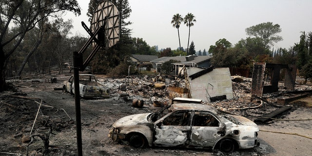 More than 800 homes have been destroyed in the Carr fire.