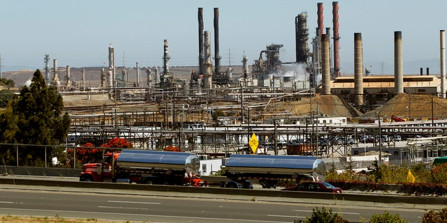 Chevron Corp's refinery is shown in Richmond, California August 7, 2012.