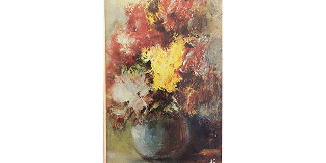 A still life painting by James Cagney.