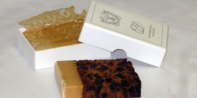 A slice of cake from the legendary royal wedding of Prince Charles and Princess Diana on July 29, 1981 is also available.