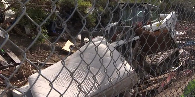 California highway maintenance workers are expressing safety concerns dealing with cleaning up homeless encampments.