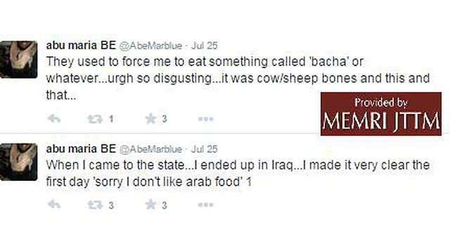 Many defectors have complained about the local cuisine. (MEMRI JTTF)