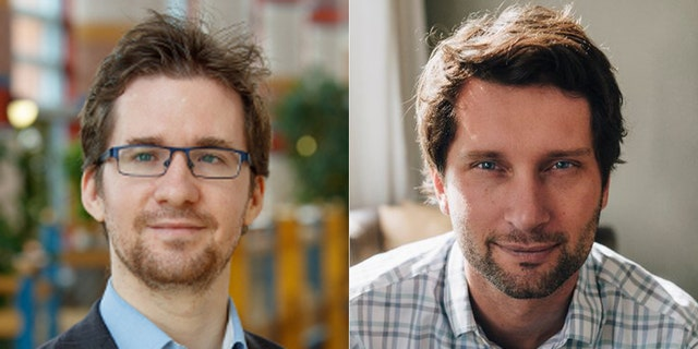 David Stillwell, left, and Michael Kosinski reportedly rejected working with Cambridge Analytica on ethical grounds.
