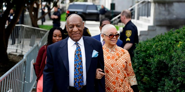 """Camille Cosby said her husband was innocent and said the case was """"mob justice, not real justice."""""""