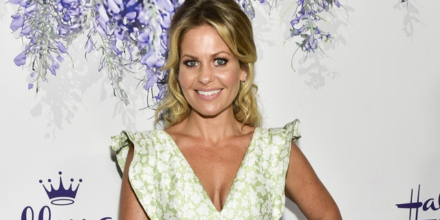 Candace Cameron Bure attends the 2018 Hallmark Channel Summer TCA at a private residence on July 26, 2018, in Beverly Hills, California.
