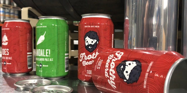 Frothy Beard Brewing Company hopes to expand their canning production this year.