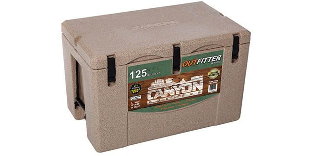 This cooler is big enough to hold the meat of a couple boned-out bucks.