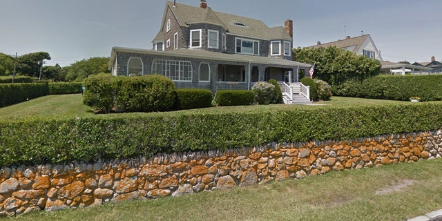 The home on Irving Avenue in Barnstable where two Kennedy family members were arrested.