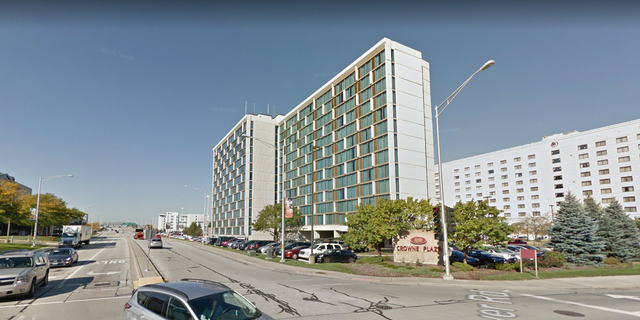 The woman was discovered in a freezer at Crowne Plaza Chicago O'Hare Hotel & Conference Center.