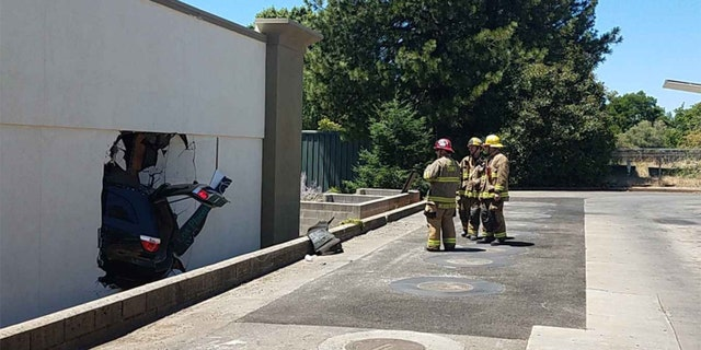 Witnesses said that it appeared that the driver accidentally hit the accelerator instead of the brake.