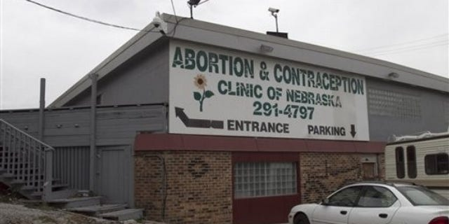 The abortion and contraception clinic operated by Dr. LeRoy Carhart, is seen in Bellevue, Neb. , Wednesday, Nov. 10, 2010. (AP)