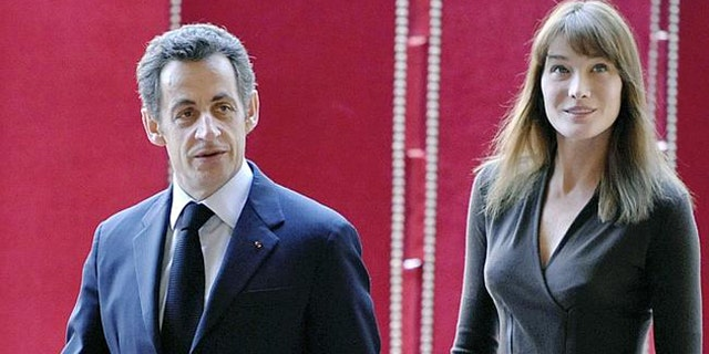 French President Nicolas Sarkozy and his wife Carla Bruni-Sarkozy may have been embarrassed by nude pictures being released soon after their marriage but those picture have now been used to embarrass many others.