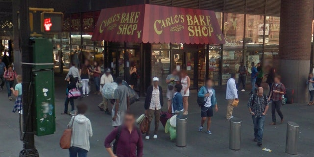 The NYC location of Carlo's Bake Shop was situated in the same building that houses the Port Authority Bus Terminal.