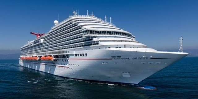 A 3-year-old tumbled from her family's balcony on the Carnival Breeze.