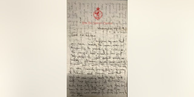 The letters are dated April 17, 1912 (Henry Aldridge & Son)