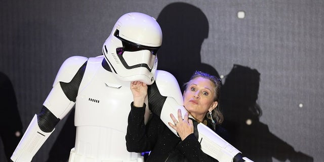 Carrie Fisher was immediately on board to reprise her role as Princess Leia.