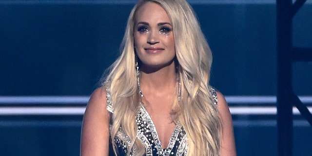 """Carrie Underwood performs """"Cry Pretty"""" at the 53rd annual Academy of Country Music Awards at the MGM Grand Garden Arena on Sunday, April 15, 2018, in Las Vegas."""