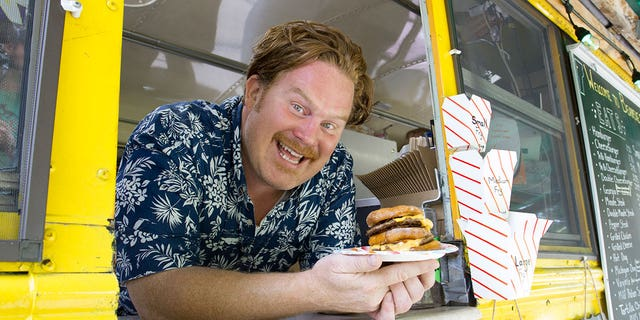 """Casey Webb says his travels with the """"Man v. Food"""" crew have introduced him to a couple of surprising foodie Meccas he never even knew existed."""