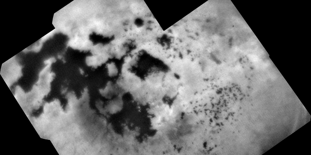 The Cassini mission's last image of Saturn's moon Titan was taken just four days before the spacecraft plummeted into the gas giant in September 2017.