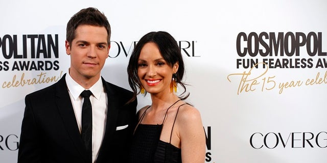 Catt Sadler [right] left E! after she learned her co-host Jason Kennedy [left] was making nearly double her salary.