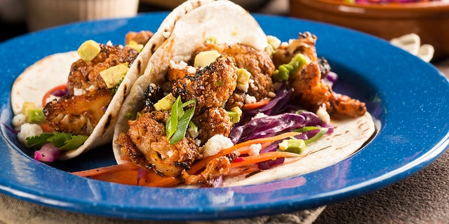 A man bit down on a cauliflower taco and found something else hiding.