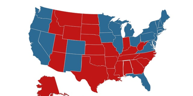 The results of the 2012 presidential election.