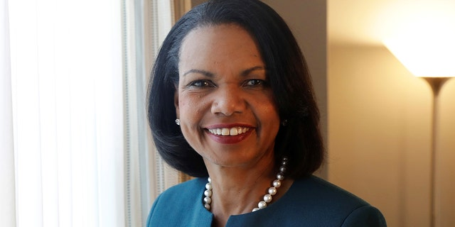 Former Secretary of State Condoleezza Rice defended her commission's planned reforms.
